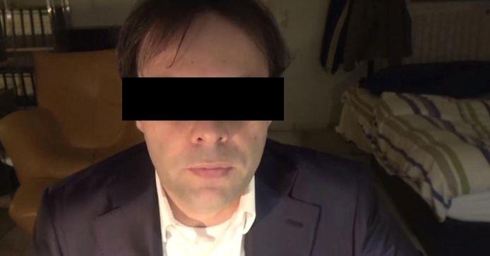 De vermoedelijke dader Tobias Rathjen (43).