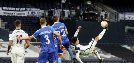 Spurs overtuigend door in Europa League na prachtige omhaal en assists Alli