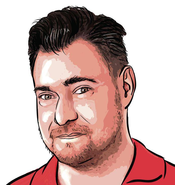 Columnist Sjoerd Mossou.