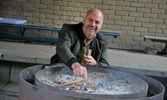 Rick van Beers van Scouting Hasselo.