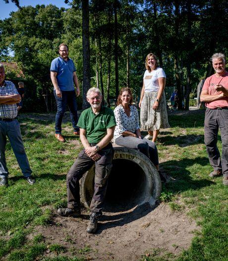 Lonneker werkt aan speel- en ontmoetingspark midden in het dorp