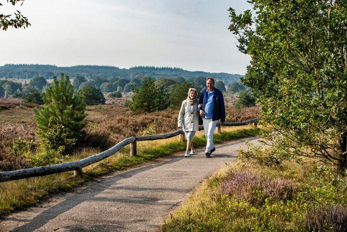 De Sallandse Heuvelrug is zowel bij toeristen als bij inwoners van de regio geliefd als fiets- en wandelgebied.