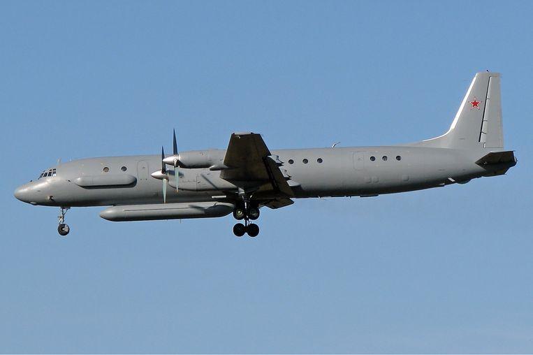 De Il-20 Coot werd in 2015, naar verluidt via Iran, naar de Russische luchtmachtbasis bij Latakia gestuurd. Beeld Kirill Naumenko