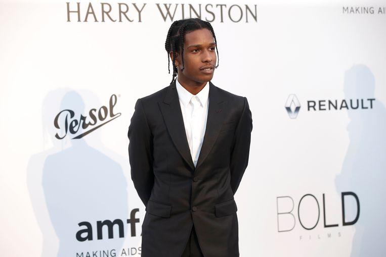 A$AP Rocky heeft al zijn Europese concerten in juli afgezegd. Beeld EPA