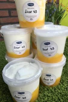 Grap wordt werkelijkheid: Zuivelhoeve  maakt boer'n yoghurt met likeur