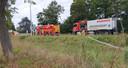 Alle korpsen uit de brandweerzone zijn ter plaatse.