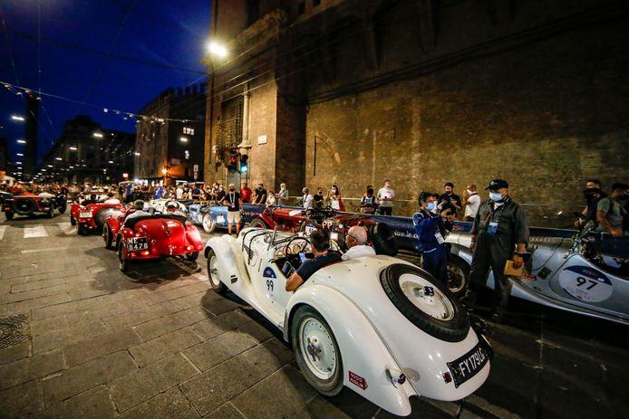 Deze auto's hebben Bologna wél bereikt, andere moesten onderweg afhaken door pech