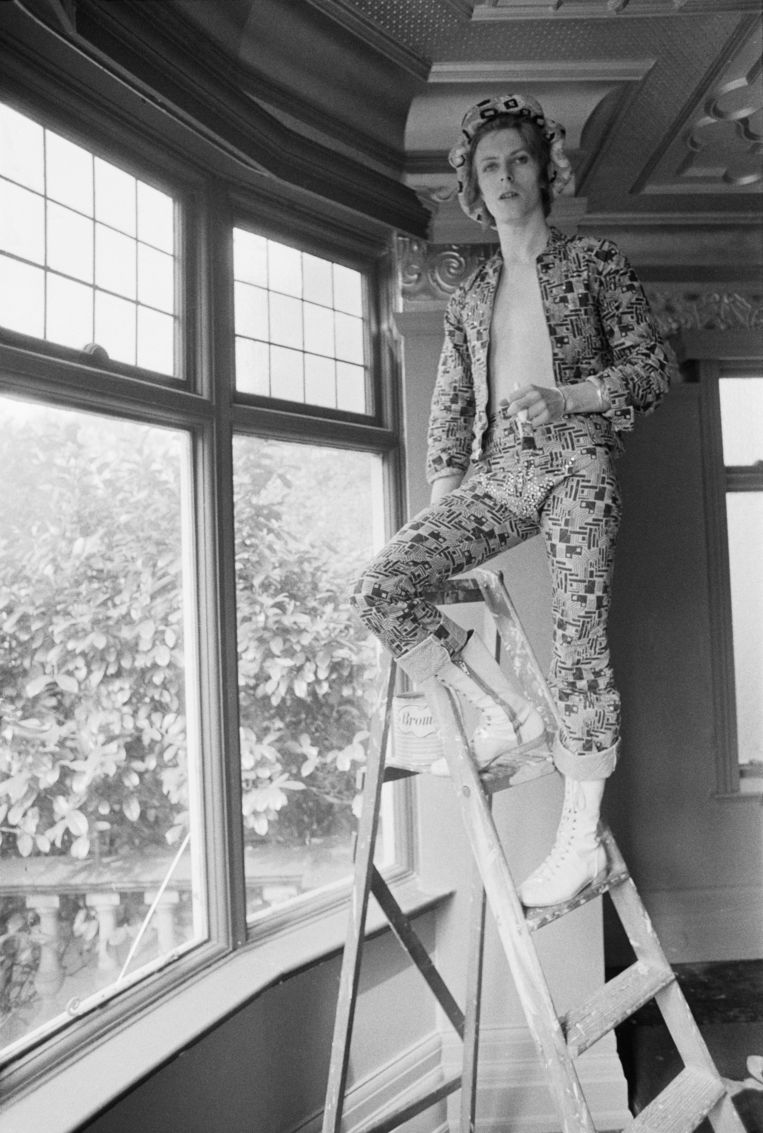 David Bowie in 1972.  Beeld Getty Images