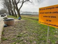 Huisvuil en matrassen langs A325; provincie Gelderland gaat controleren en bekeuren