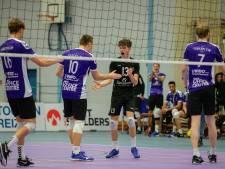 Volleyballers Vocasa verliezen voor het eerst in 'degradatiepoule'