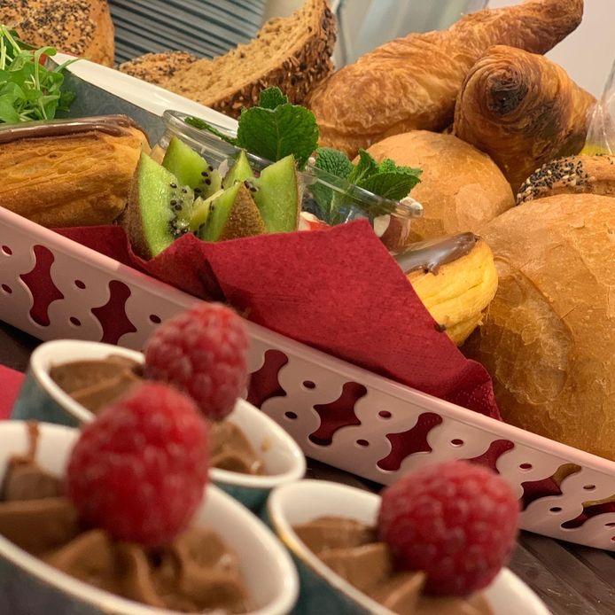 Een beeld van een ontbijt van De Vijf Seizoenen in Gierle.