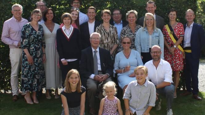 Ereraadslid Roger Scheirlynck viert zestigste huwelijksverjaardag