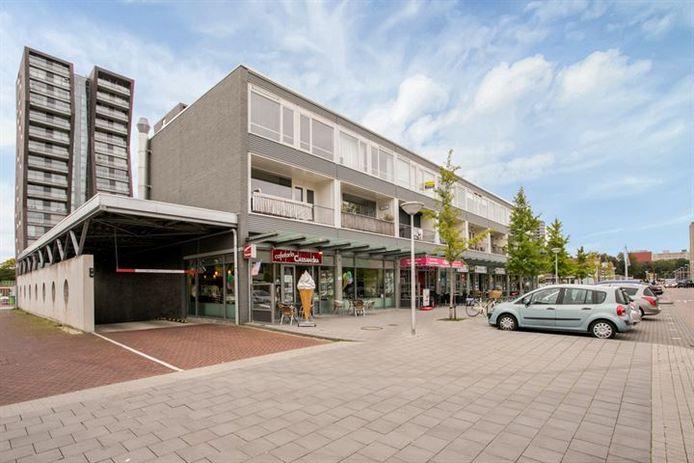 Het Cassandraplein in het Eindhovense stadsdeel Woensel