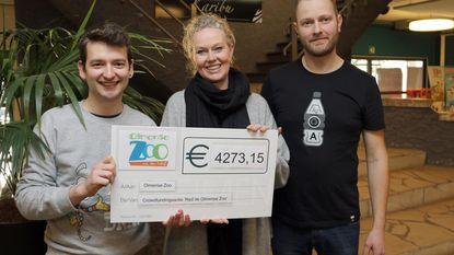 Crowdfunding levert 4.273 euro op voor Olmense Zoo