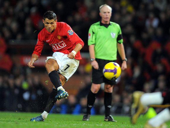 Cristiano Ronaldo scoorde 118 goals voor Manchester United.