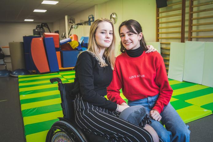 Fiene en Madieke werden vriendinnen voor het leven in het kinderrevalidatiecentrum van het UZ Gent.