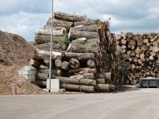 Biomassa-centrale op kantorengebied in Amersfoort