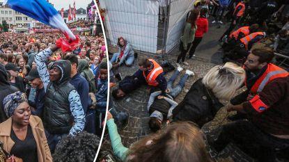 Amokmakers dagen Belgische fans uit met Franse vlag in Kortrijk, ook elders relletjes