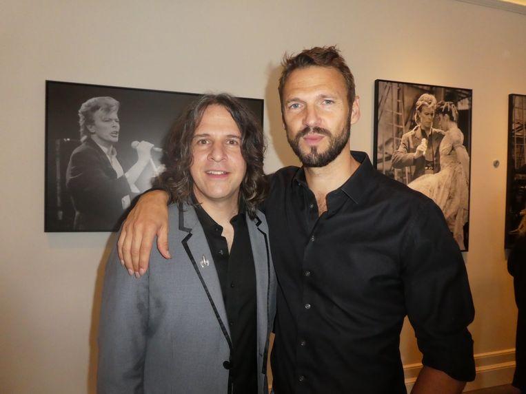 Musical supervisor Henry Hey en acteur Pieter Embrechts: