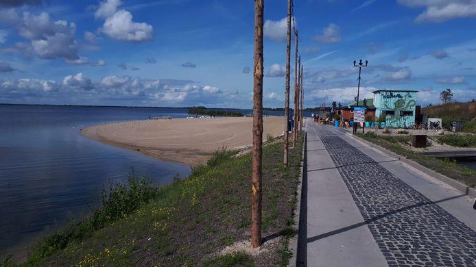 Het Strandeiland blijft in ontwikkeling.