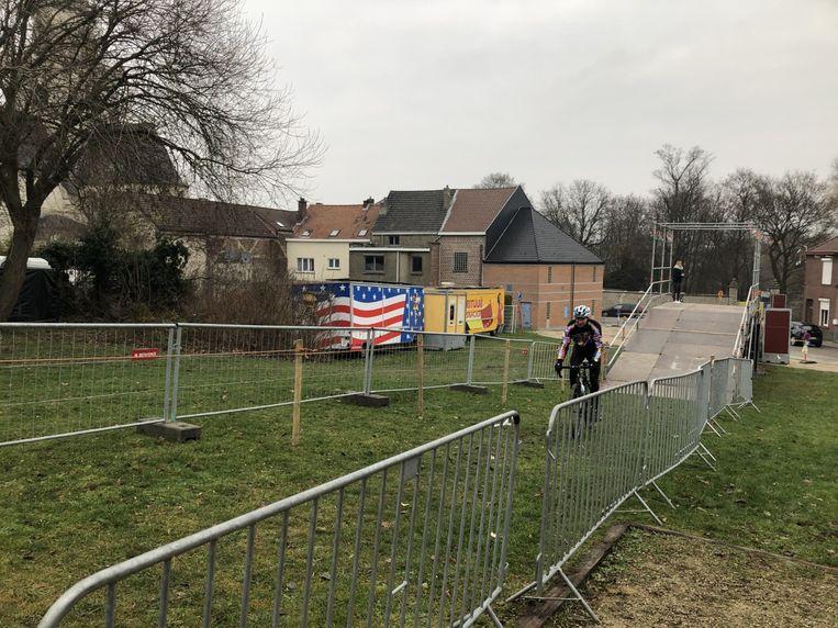 Het parcours van de cyclocross van Diegem werd vrijdag al verkend door enkele veldrijders.