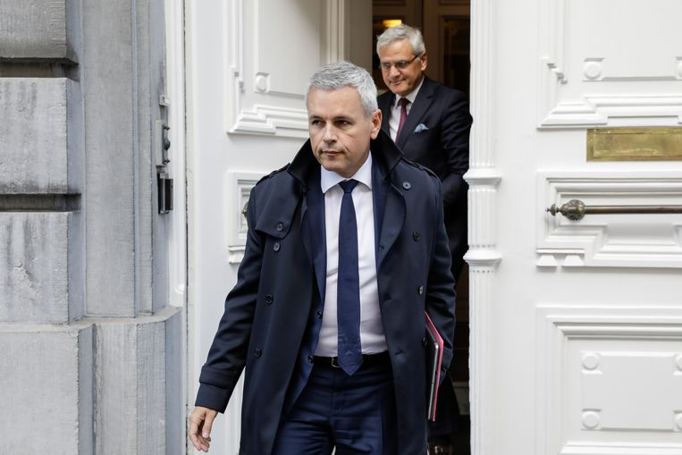 Waals minister van Begroting Christophe Lacroix (PS). Beeld BELGA