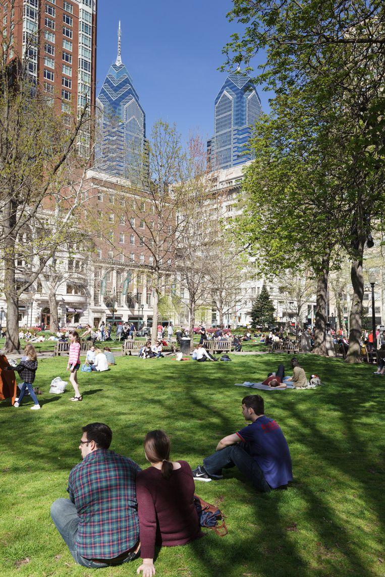 Rittenhouse Square. Beeld Alamy