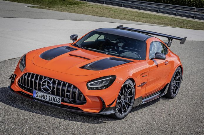 Mercedes AMG GT Black Series.