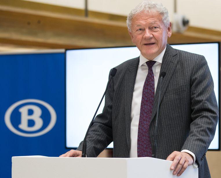 Federaal minister van Mobiliteit François Bellot (MR).