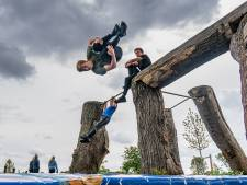 Job (17) uit Goor ruilt gym even voor Freerunning