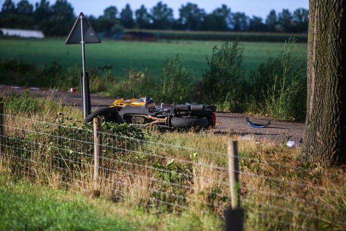 Motorrijder uit Megen overlijdt bij ongeval in Elsendorp.