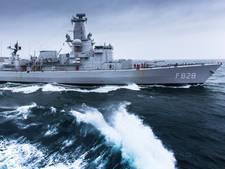 Fregat Van Speijk uit de vaart wegens ernstig personeelstekort