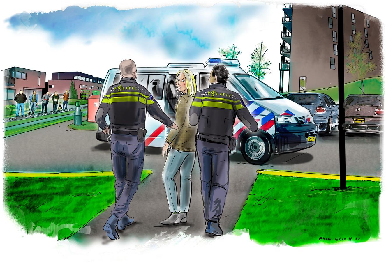 BAVEL - Een aanhouding door de politie kan iedereen overkomen. Als de hele buurt staat te kijken, slaat de schaamte toe. Ook als je onschuldig bent.