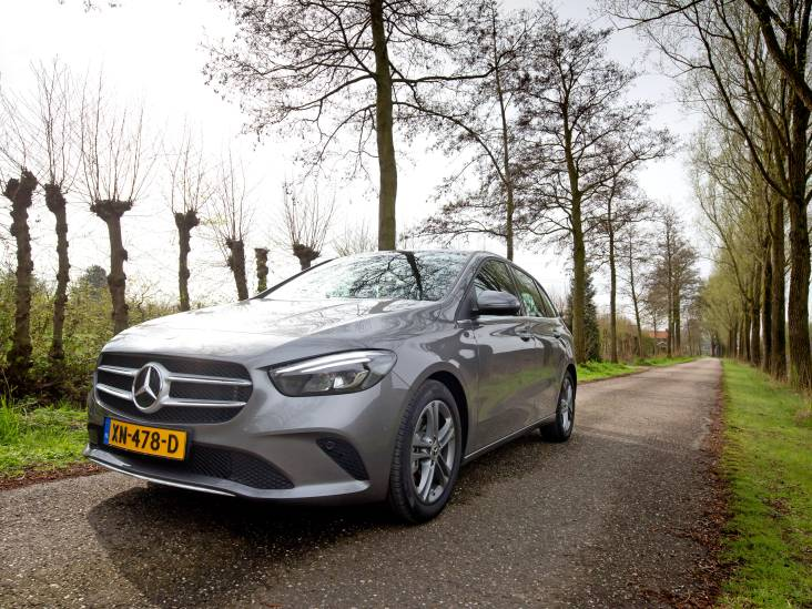 Test Mercedes-Benz B-Klasse: brave topkwaliteit