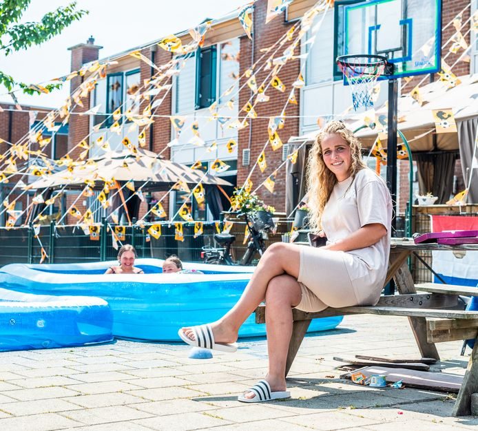 Kimberley (17) woont haar hele leven met veel plezier in de Zeehavenlaan.