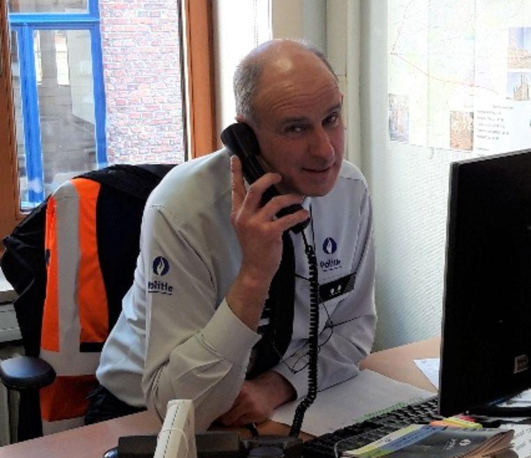 Senioreninspecteur Jean-Lou De Graef .