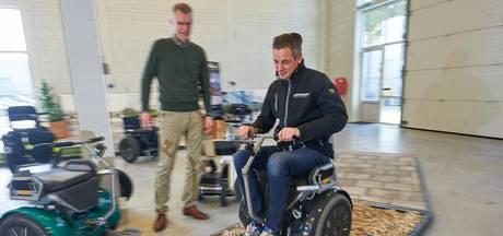 Dankzij 'segway-rolstoel' voor het eerst in dertig jaar weer in de bossen