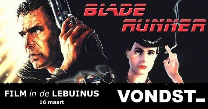 Harrison Ford speelt de hoofdrol in 'Blade Runner'.