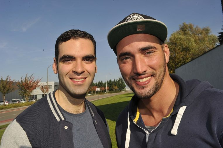 Adil El Arbi (links) en Bilall Fallah. Beeld Lukas