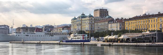 Le célèbre yacht Galeb est l'une des attractions les plus populaires de Rijeka.