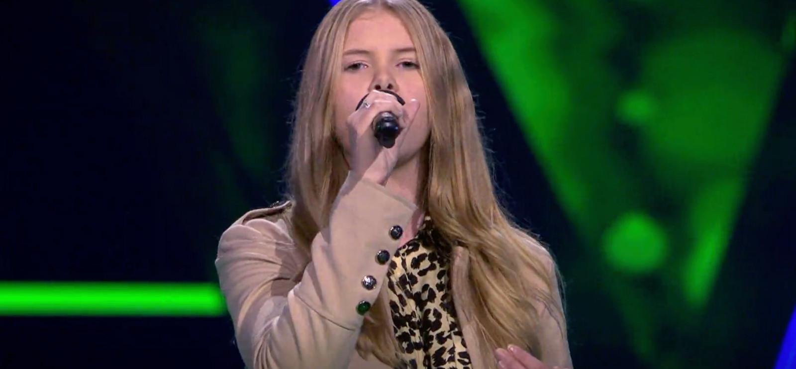 Lynn in The Voice Kids.