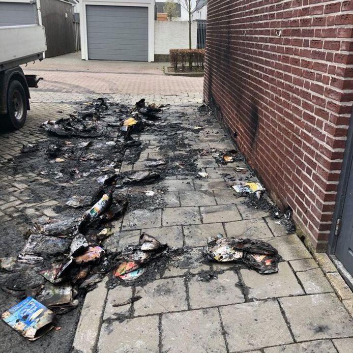 De brand in Fijnaart.