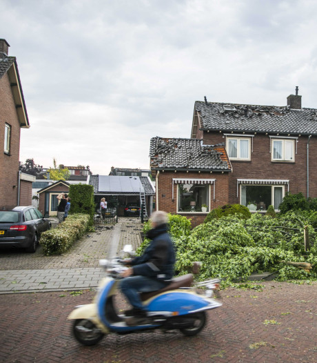 Aanpak rondwaaiend asbest Rheden na tornado niet waterdicht
