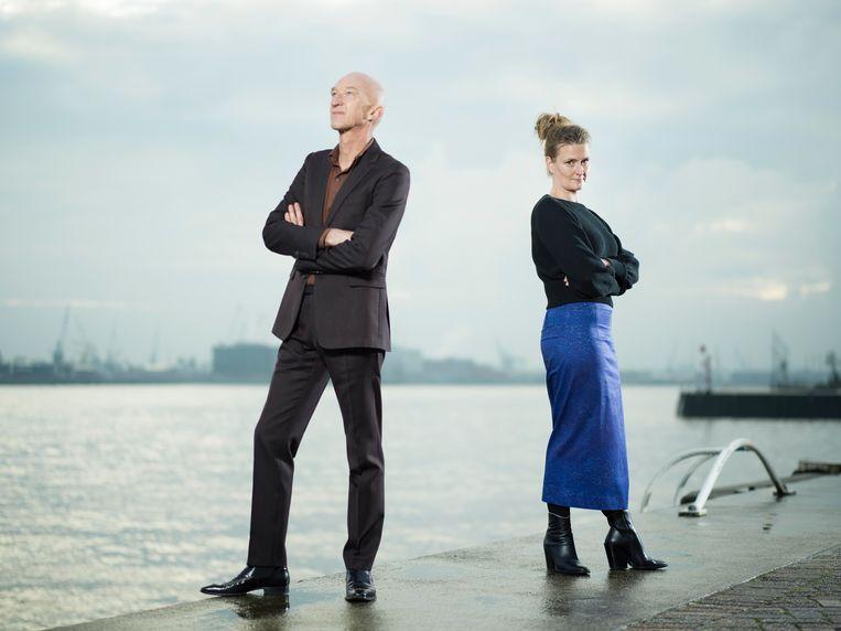 Wilfried de Jong en Ruth Joos presenteren 'Brommer op zee' wel nog op VPRO. Beeld Merlijn Doomernik