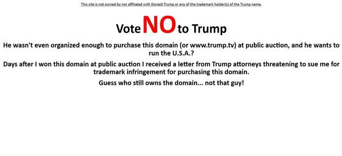 www.trump.tv