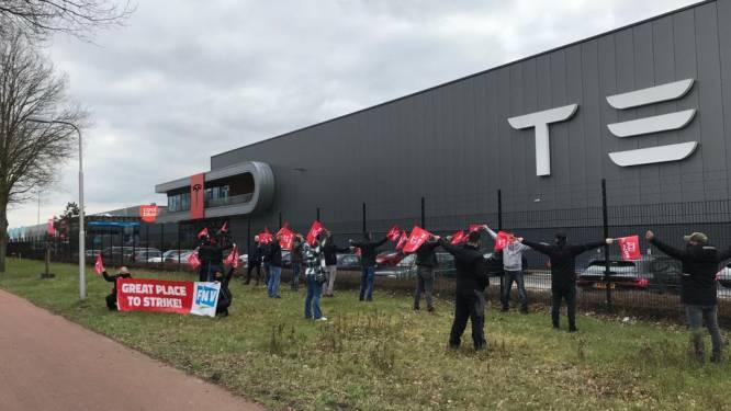 Eerste acties voor beter sociaal plan bij Tesla in Tilburg, want 'wat blijft er straks nog over?'