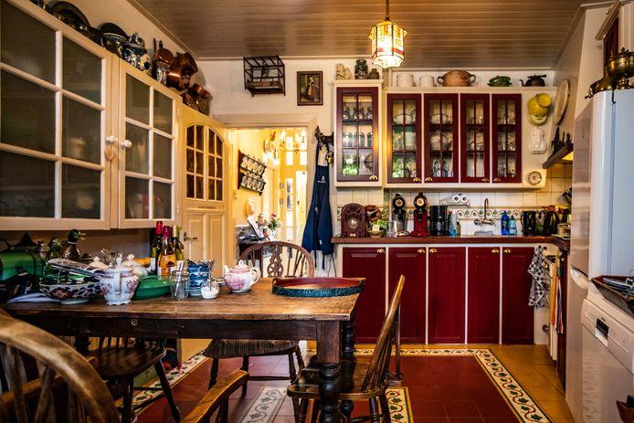 De keuken van Huize De Worp in Deventer.