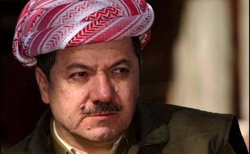 Massoud Barzani, le président du Kurdistan irakien