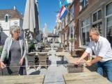 De terrassen zijn weer open, 'maar geen enkele ondernemer gaat geld verdienen'