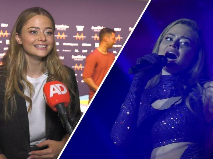 Griekse Stefania (18) over songfestival: 'Handig dat ik Nederlands spreek'